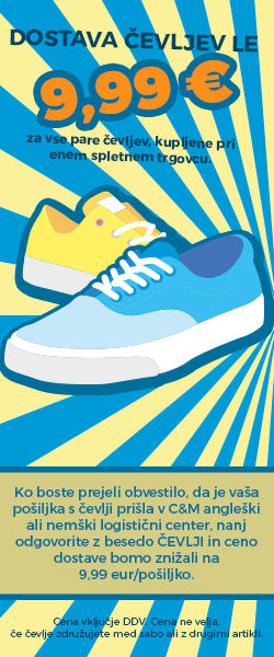 banner čevlji